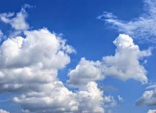 langit biru akibat difusi