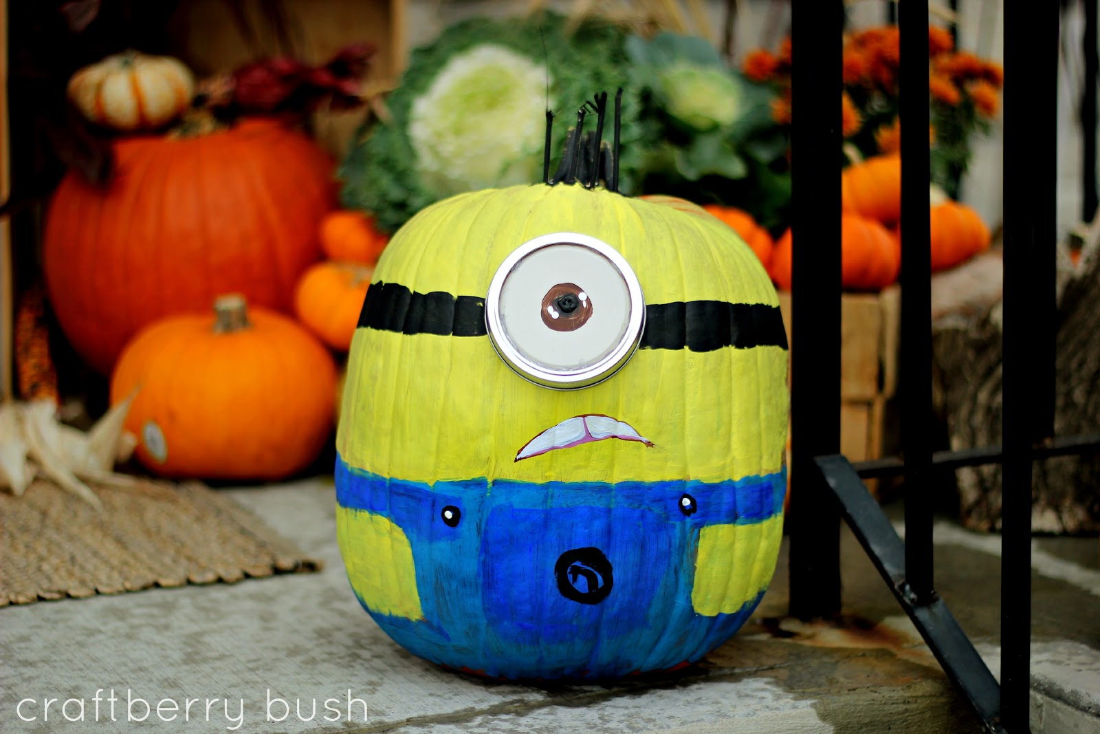 Craftberry bush creativity in bloom Funny pumpkin painting ideas