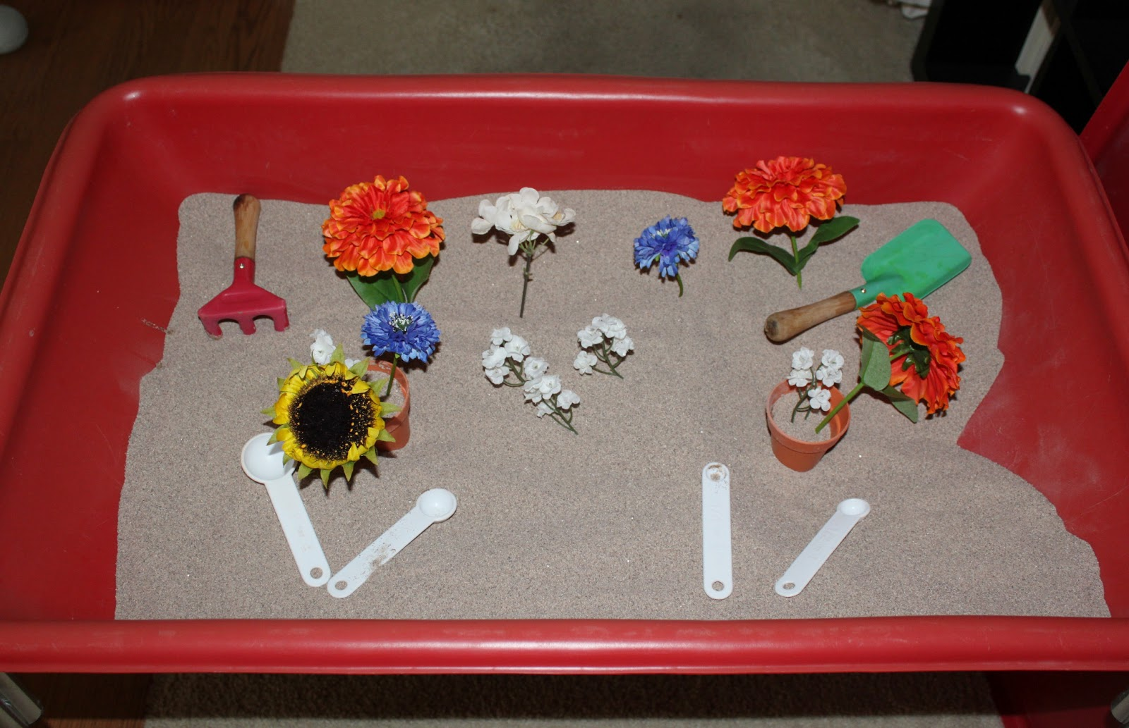 Seedlings Nursery School: 10 Preschool Sensory Bin Ideas