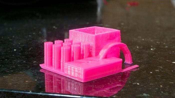 QU-BD 3d printed component