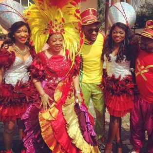 Pictures |Stars At The Calabar Carnival.