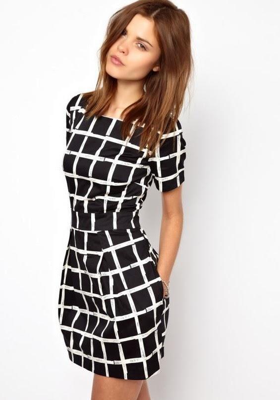 Modelo de vestidos casuales 2015