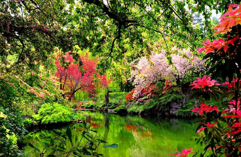 Jardines butchart canada una historia de amor por la for Jardines con encanto fotos