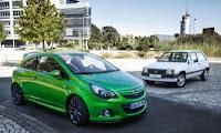 Opel Corsa OPC si Opel Corsa A