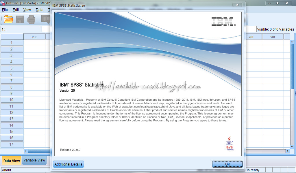 download ibm spss statistics 20 full  crack  serial 64 bit