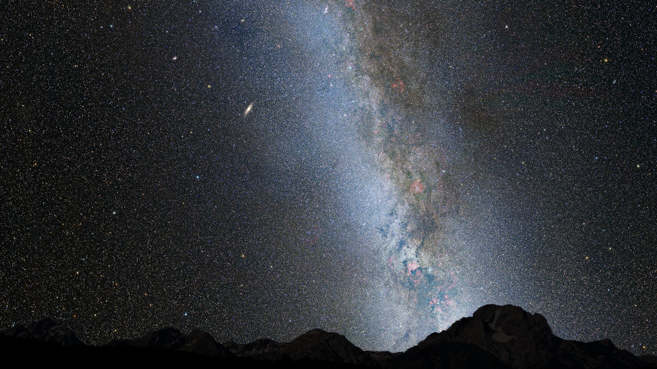 milky way compared to andromeda galaxy - photo #33