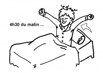 Thierry moualeu se lever tot le matin est le meilleur moment de la journ e - A quelle heure coucher enfant 3 ans ...