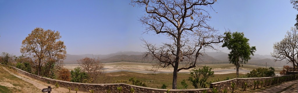 The Panoramic View from Dhikala Rest House
