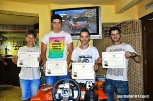 ADRIÁN VICENTE, CAMPEÓN DEL II WRC