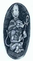 Toth como Babuíno