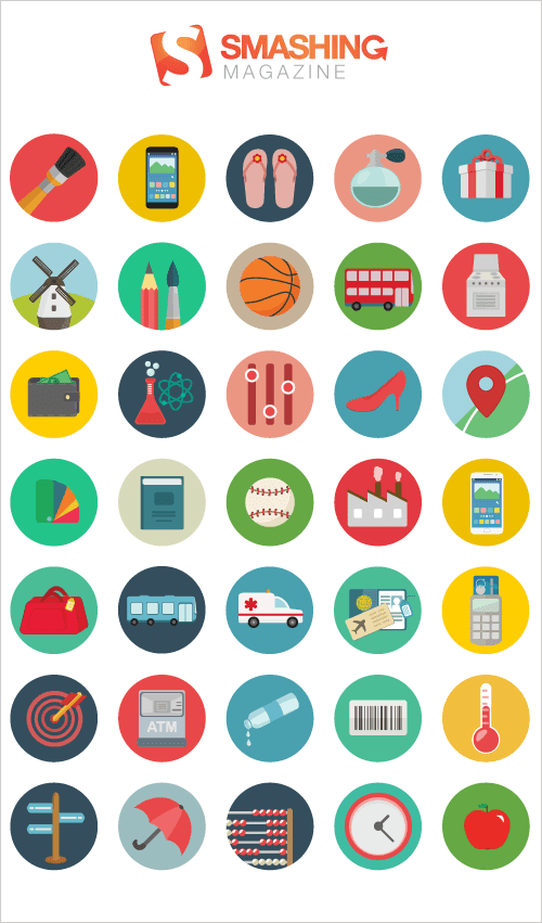 Freebie: Roundicons Icon Set (60 Icons, PNG, SVG, EPS, AI)