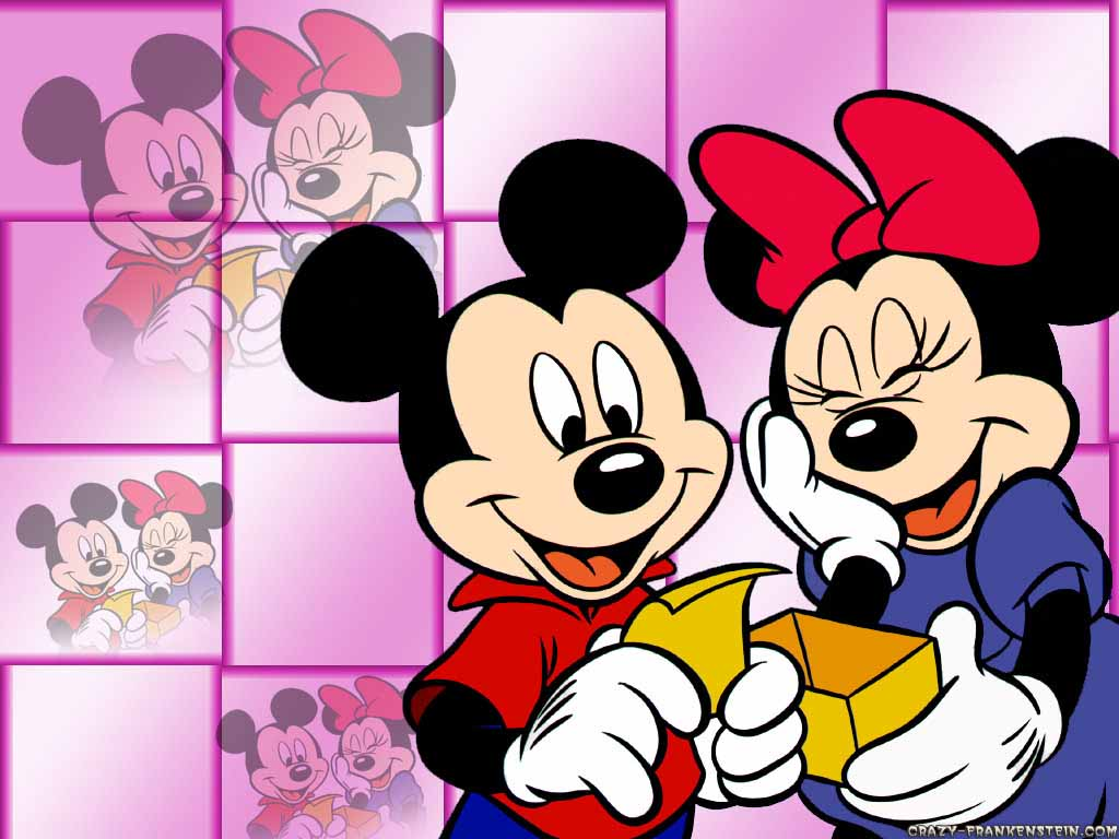 Funny picture clip cool mickey mouse wallpaper - Mickey mouse minnie cienta ...