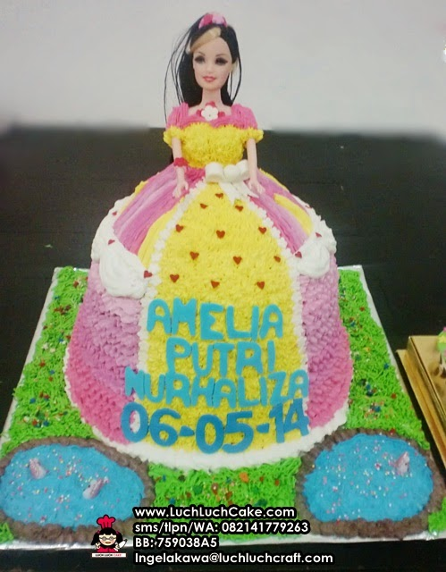 Kue Tart Ulang Tahun Princess
