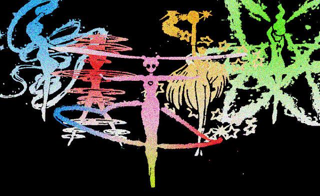 Inner Senshi: Glitter Henshin por blisseyrules