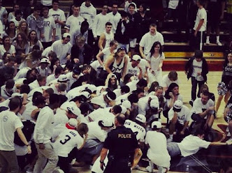High Schoolers Storm Court and Celebrate By Tebowing