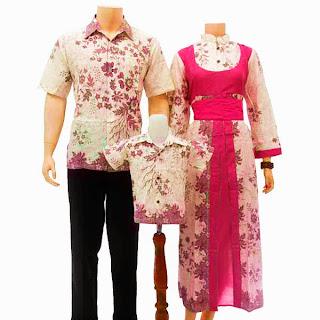 SK023 Sarimbit Batik Keluarga Pasangan Solo 2013