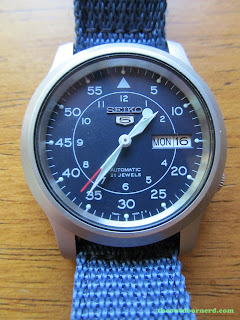 "Seiko SNK807 ""Seiko 5"" Automatic Men's Watch"