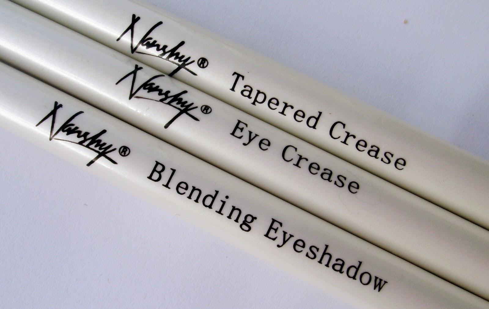 Nanshy Eye Makeup Brushes - Names and Purpose