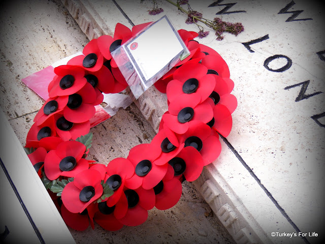 Poppy Wreath, Polish Cemetary, Cassino, Italy