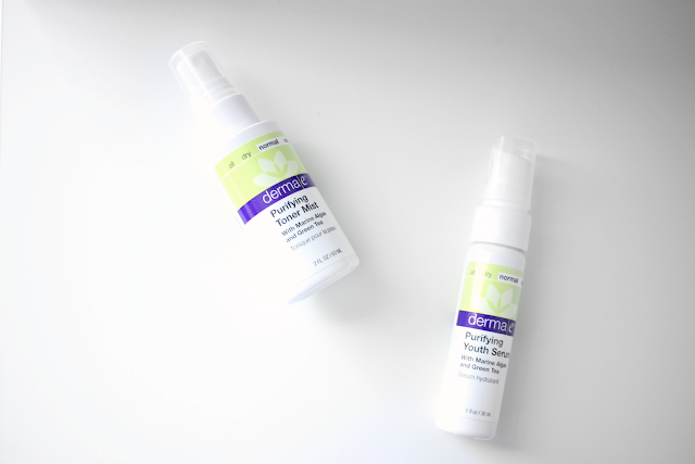 Derma E Purifying Toner Mist and Youth Serum