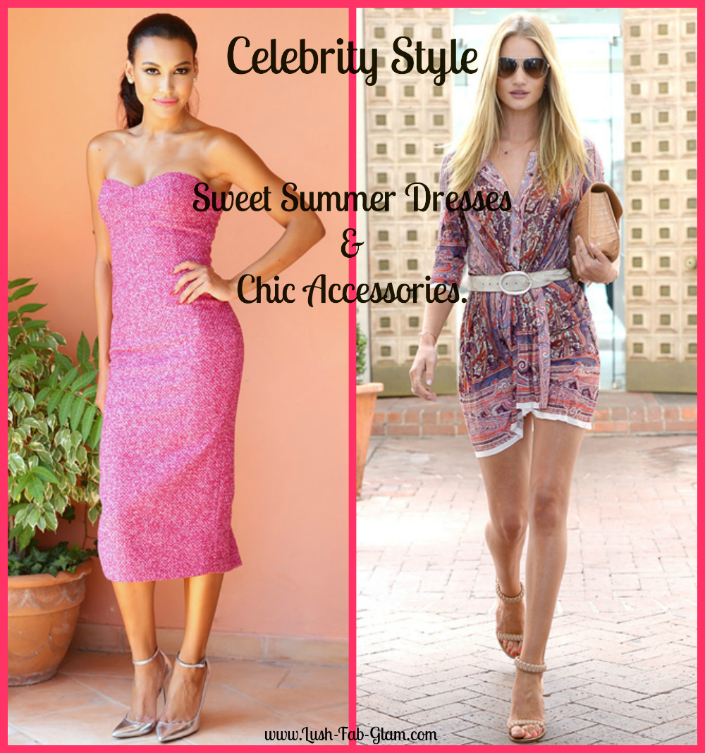 Celebrity Dresses for Summer