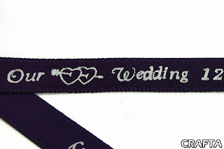 Wedding Personalized Ribbons