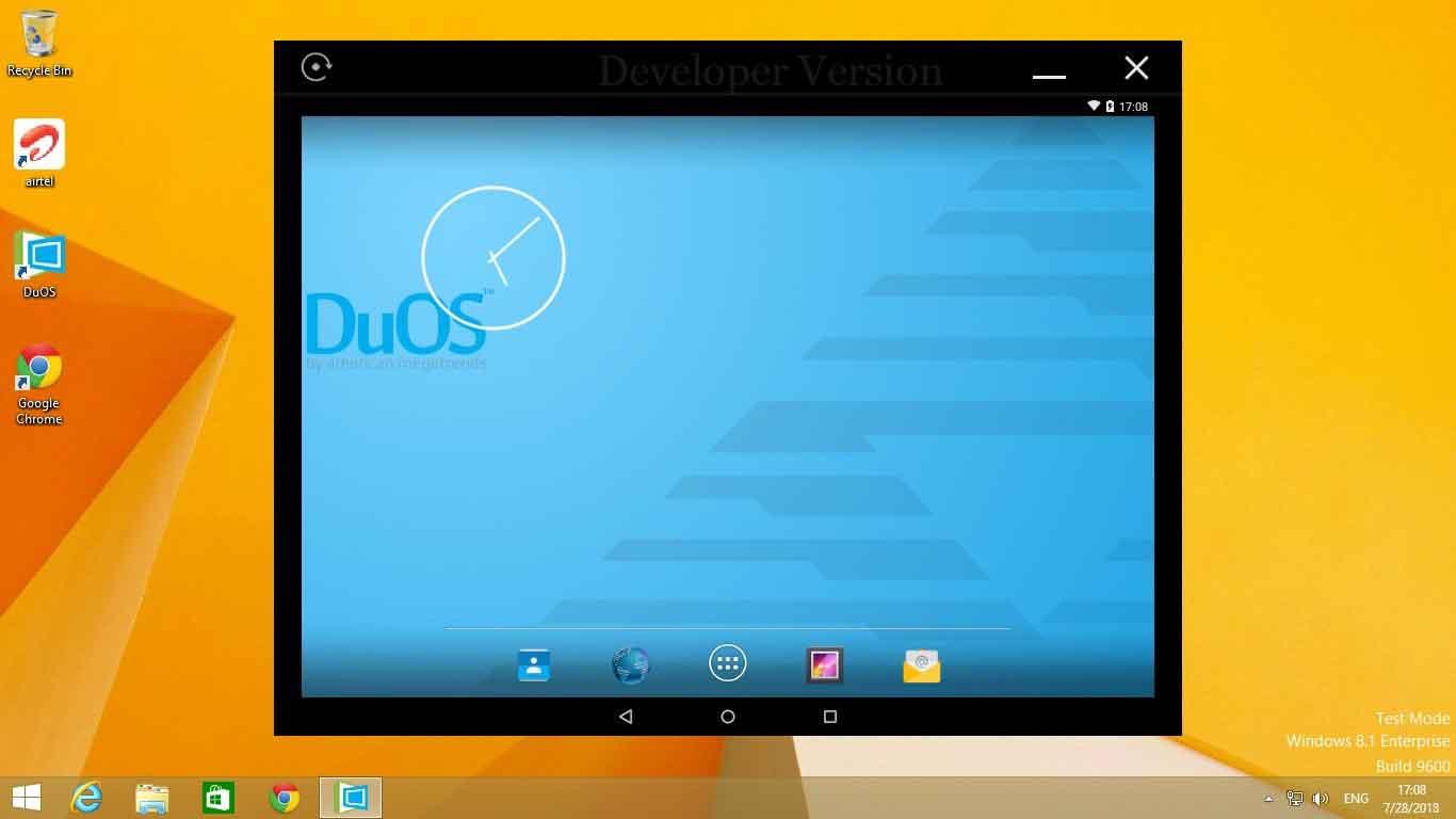 تحميلAMIDuOS محاكي Android عليWindows