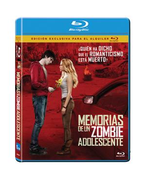 Memorias de un Zombie Adolescente - DVD y Blu-Ray