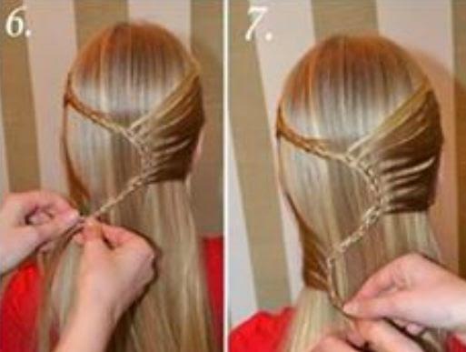 Peinados bonitos con trenzas para cabello largo