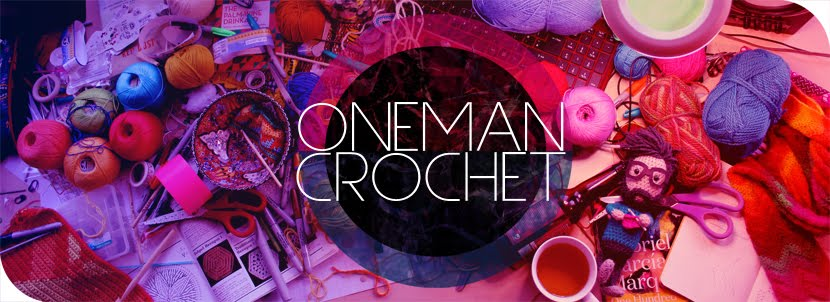 one man crochet