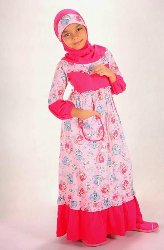 Lesjalouses contoh model baju muslim untuk anak 2015 terbaru Contoh baju gamis anak