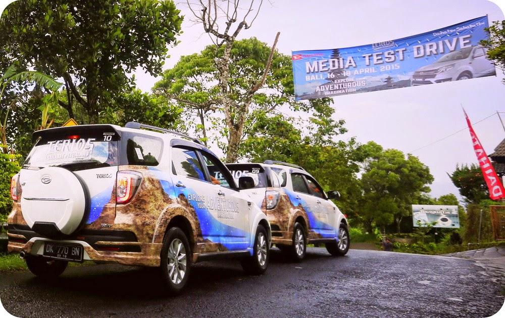 Media Test Drive Daihatsu New Terios Bali