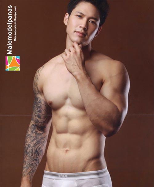 Asian muscle men