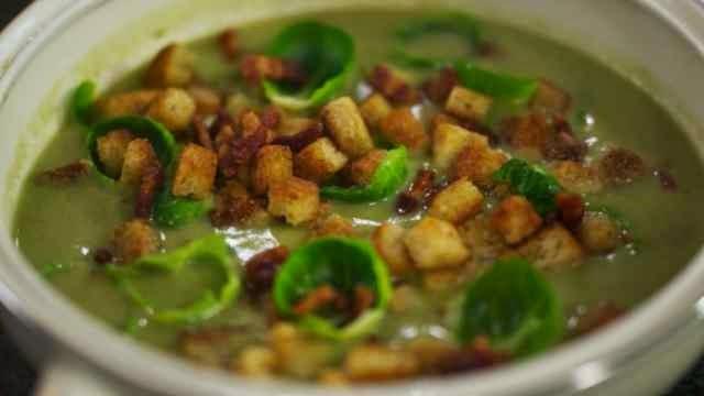 spruitjes soep recepten