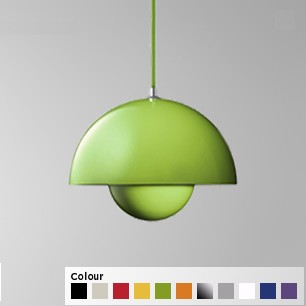 Fargerike lamper