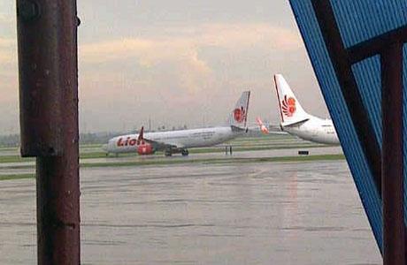 Pesawat Lion Air bersenggolan di Bandara Soekarno-Hatta