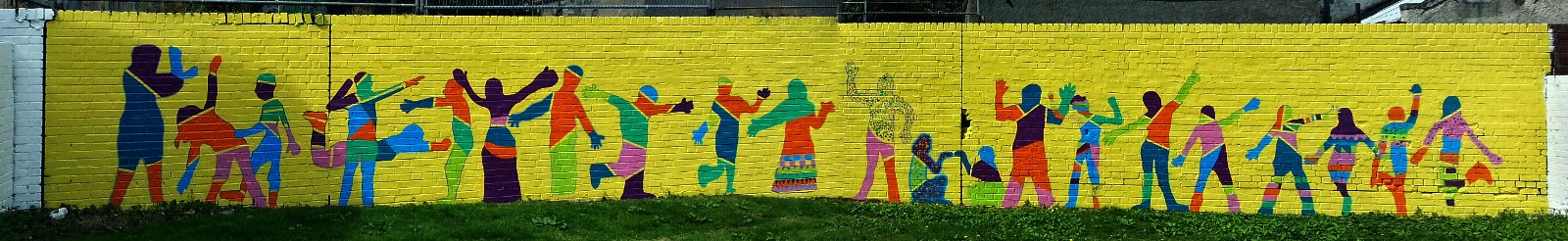 Peoples Mural,Glasgow