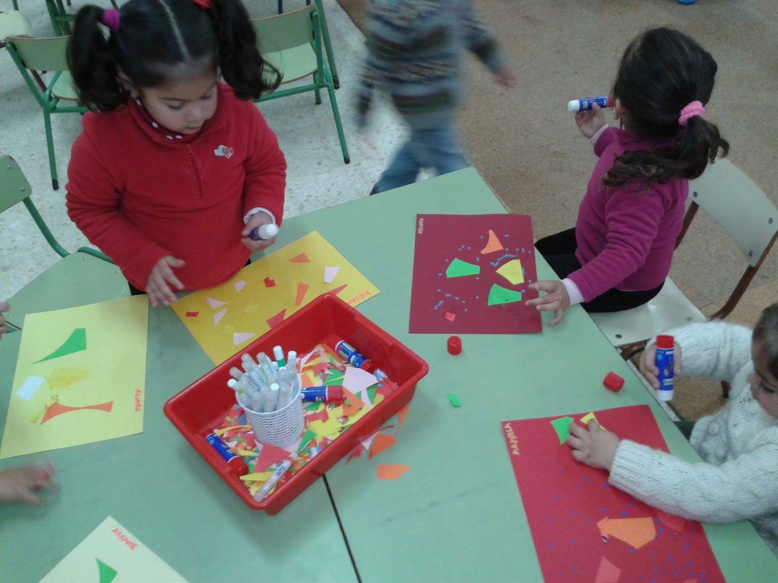 Aventura diminuta t cnicas art sticas f ciles para for Actividades para jardin infantil