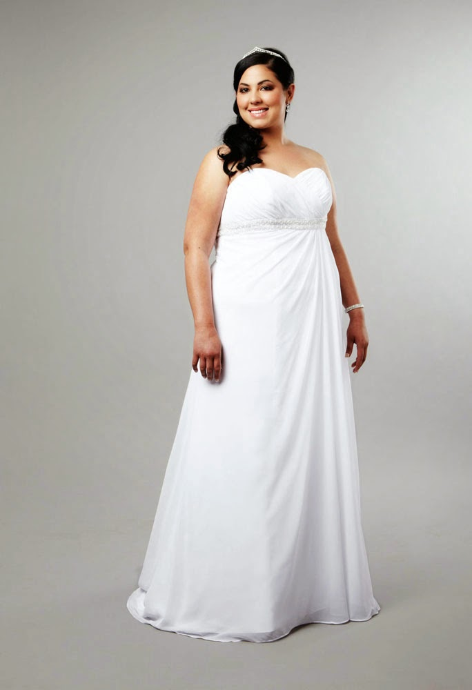 Casual Informal Wedding Dress Plus Size Design pictures hd