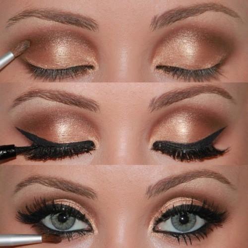 Mi Espacio Ideal Maquillar Los Ojos Paso A Paso - Paso-a-paso-como-pintarse-los-ojos