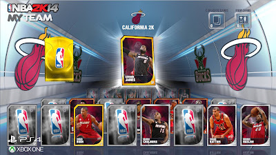 NBA 2K14 MyTeam Cards