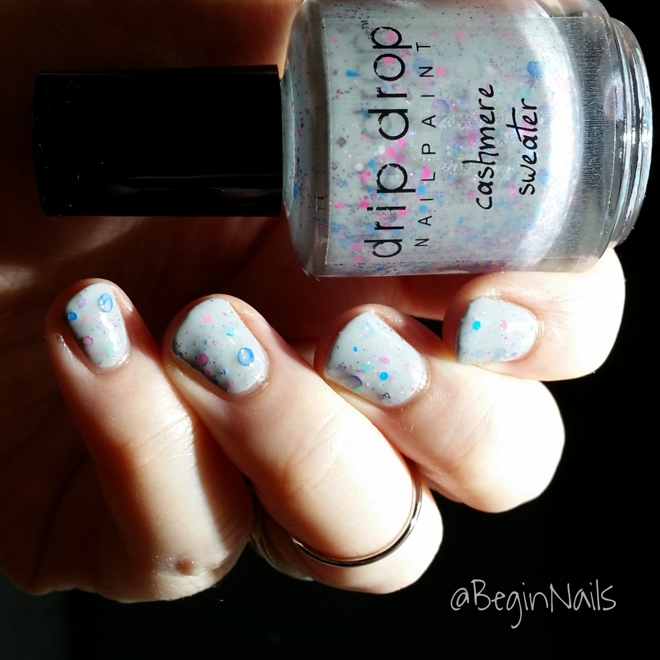 Let\'s Begin Nails: Candy Drop Duo Gets Cozy Swatch and Review