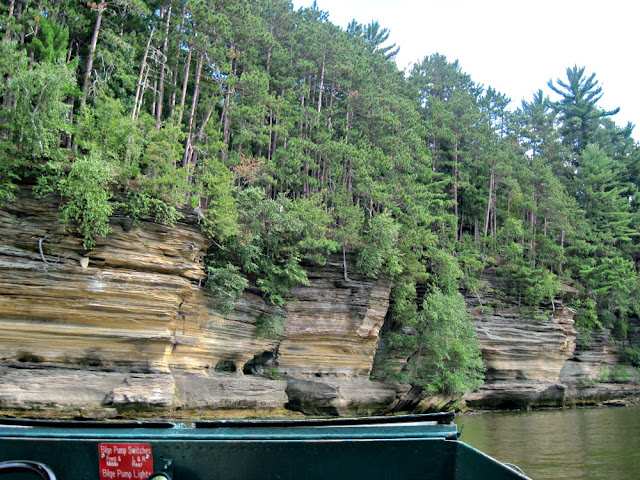 Sandstone Wisconsin River