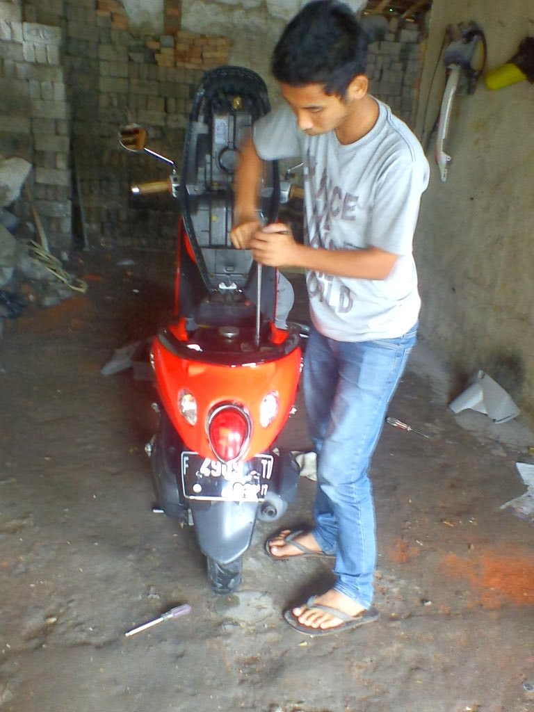 Top modif mio sporty velg 16