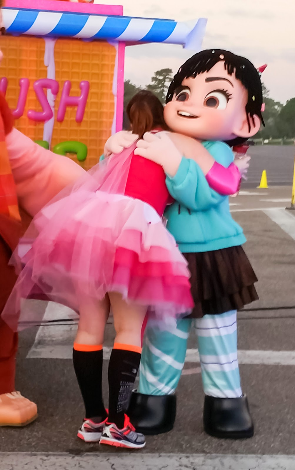 Character Hugs Are The Best Hugs