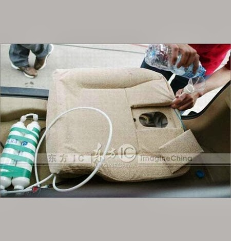 Crusar Car emergency miniature toilet Portable