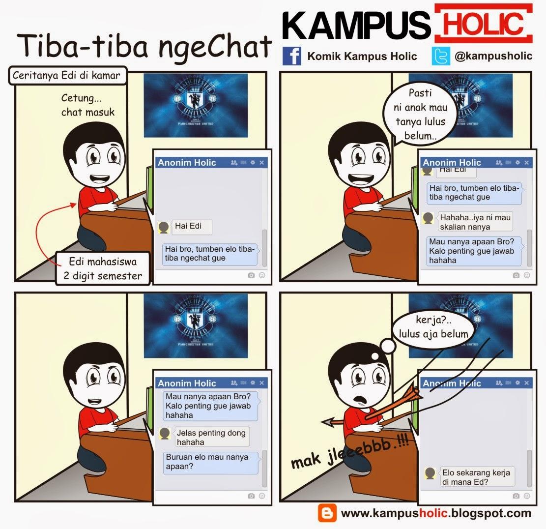 #463 Tiba-tiba ngeChat