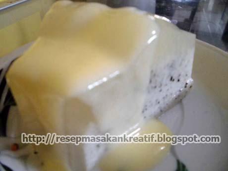 resep puding buah naga vla susu bahan puding 1 buah naga blender halus ...