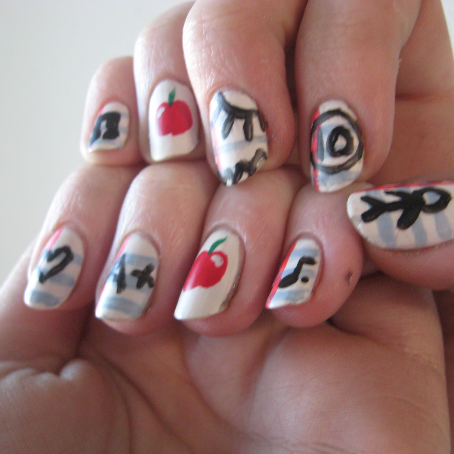School Nails | Because life is reality