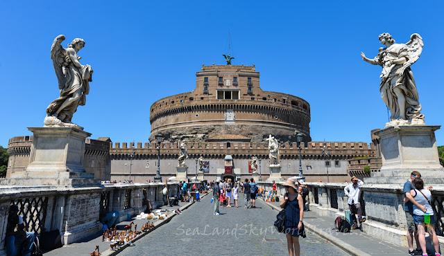 聖天使堡, Castel Sant'Angelo